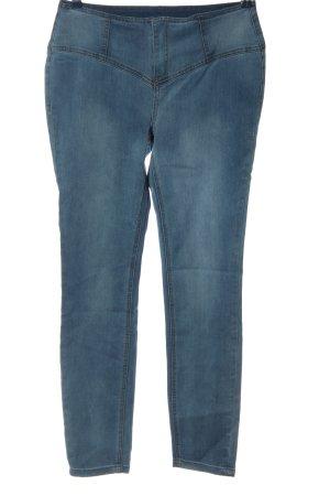 Arizona Pantalon taille haute bleu style décontracté