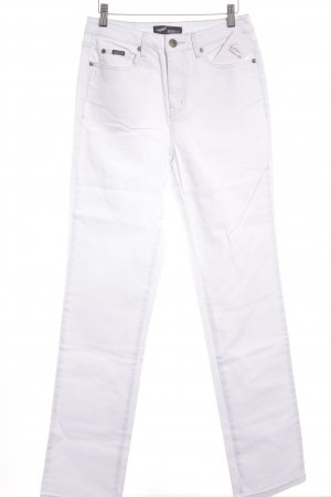Arizona Hoge taille jeans wit casual uitstraling