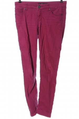 Arizona Low-Rise Trousers pink casual look