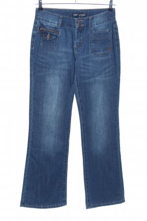 Arizona Low Rise jeans blauw casual uitstraling