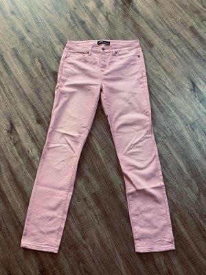 Arizona Hoge taille jeans lichtroze