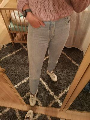 Arizona Mom-Jeans pale blue-light blue