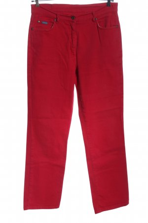 Arizona Jeans Hoge taille jeans rood casual uitstraling