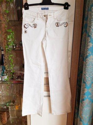 Arizona Jeans coupe-droite blanc