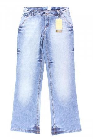 Arizona Jeans a zampa d'elefante blu-blu neon-blu scuro-azzurro Cotone