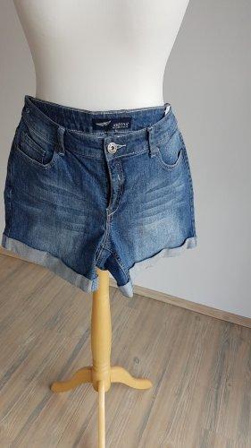 Arizona Jeans Pantalón corto de tela vaquera azul