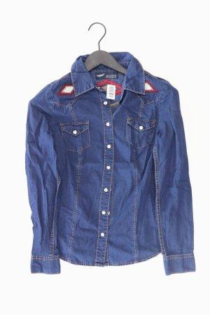 Arizona Blouse en jean bleu-bleu fluo-bleu foncé-bleu azur