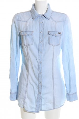 Arizona Camisa vaquera azul look casual