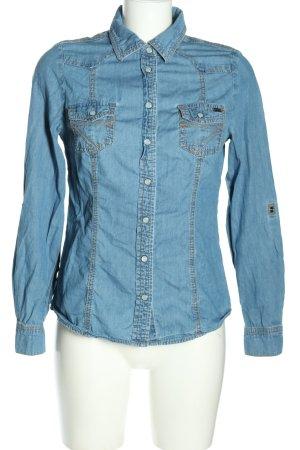 Arizona Chemise en jean bleu style décontracté