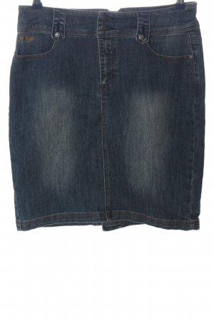 Arizona Gonna di jeans blu stile casual
