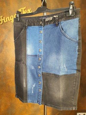 Arizona Jupe en jeans noir-bleu