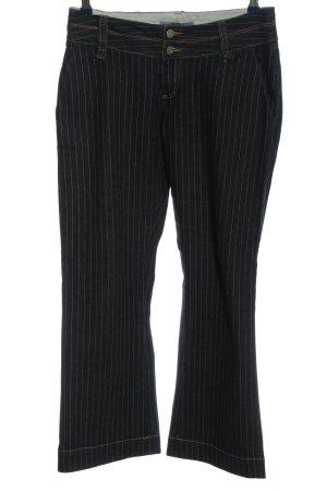 Arizona Jeans flare noir motif rayé style décontracté