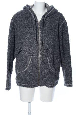 Arizona Veste à capuche gris clair moucheté style décontracté