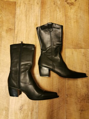 Arizona Western Boots black imitation leather