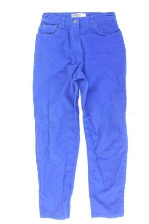 Arizona Mom-Jeans blue-neon blue-dark blue-azure cotton