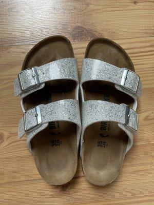 Birkenstock Sandalo comodo argento