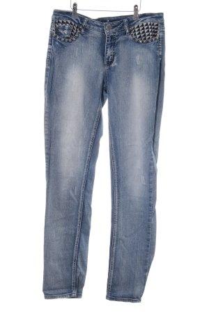 Arizona Slim Jeans blau Party-Look