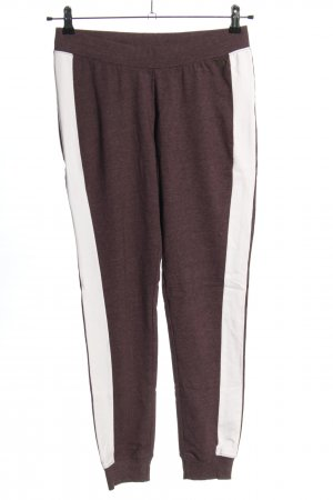 Arizona Sporthose braun-wollweiß meliert Casual-Look