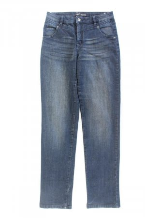 Arizona Straight Leg Jeans blue-neon blue-dark blue-azure cotton