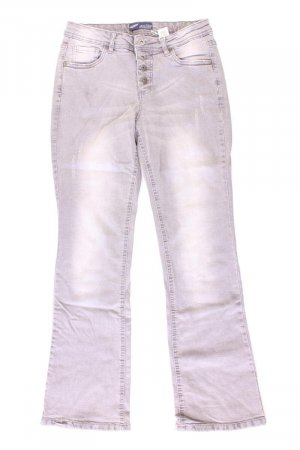 Arizona Straight Jeans Größe Kurzgröße 20 grau aus Baumwolle