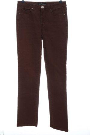 Arizona Jeans coupe-droite brun style décontracté