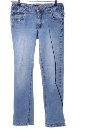 Arizona Jeansy z prostymi nogawkami niebieski W stylu casual