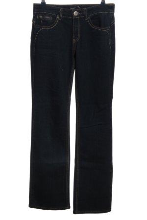 Arizona Straight-Leg Jeans schwarz Casual-Look