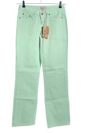 Arizona Jeansy z prostymi nogawkami zielony W stylu casual