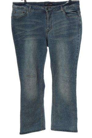 Arizona Jeans coupe-droite bleu style décontracté