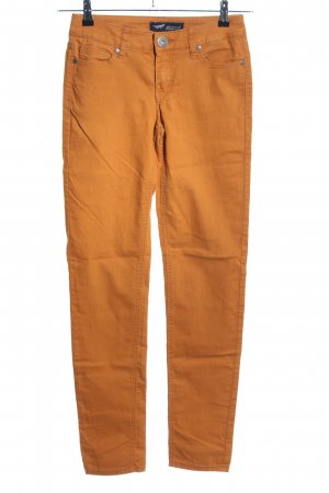 Arizona Stretch broek licht Oranje casual uitstraling