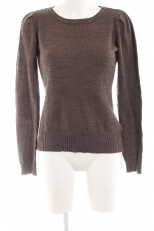 Arizona Knitted Sweater brown casual look
