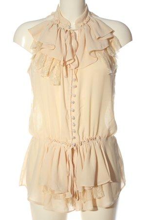 Ark & Co Sleeveless Blouse cream elegant