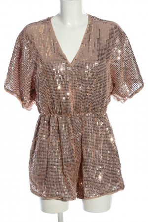 Ark & Co Jumpsuit wolwit-zilver casual uitstraling