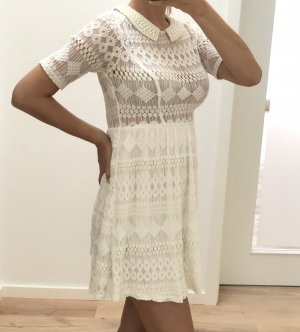 Ark & Co Kanten jurk veelkleurig