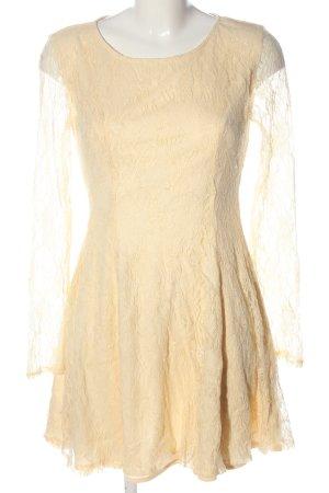 Ark & Co Longsleeve Dress cream elegant