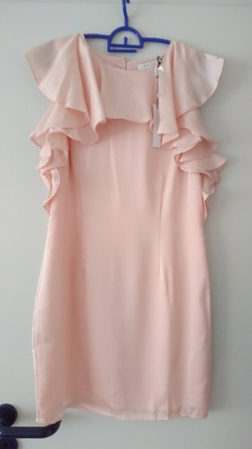 Ark & Co Satin Kleid Gr. 38 Rosa nagelneu