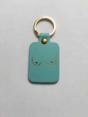 andere Marke Porte-clés turquoise