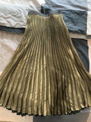 ARKET High Waist Skirt gold-colored