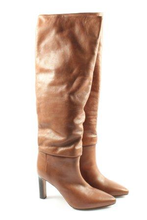 ARKET Buty na obcasie brązowy W stylu casual
