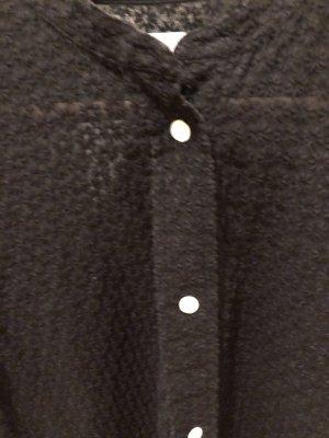ARKET Camicetta a maniche lunghe nero