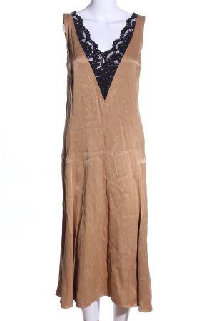 ARKET Blusenkleid nude-schwarz Elegant