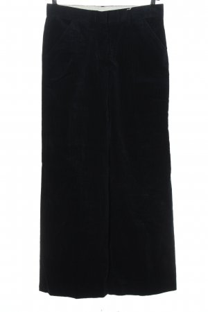 ARKET Corduroy Trousers black casual look