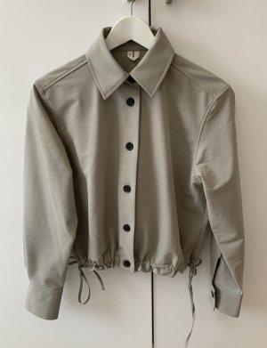 ARKET Camicia a maniche lunghe grigio-nero