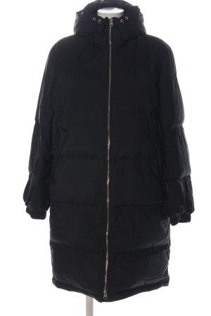 ARKET Daunenjacke schwarz Steppmuster Casual-Look