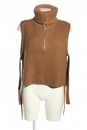 ARKET Fine Knitted Cardigan brown casual look