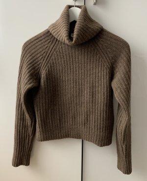 ARKET Turtleneck Sweater brown-light brown cashmere
