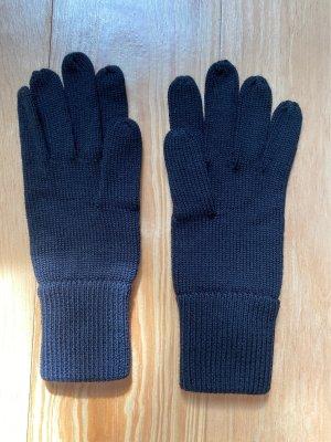 ARKET Gants en tricot noir