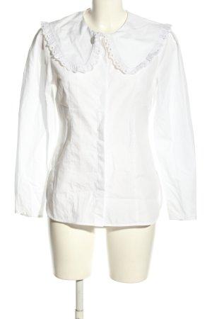 ARKET Camicia blusa bianco stile casual