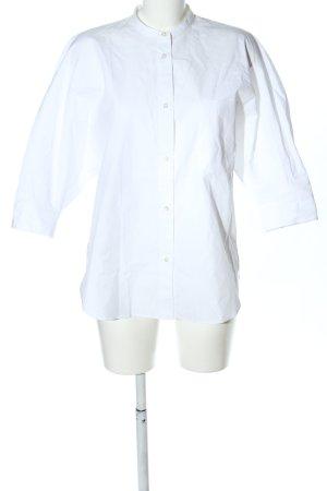 ARKET Hemd-Bluse weiß Business-Look