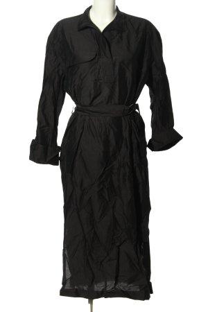 ARKET Koszulowa sukienka czarny W stylu casual